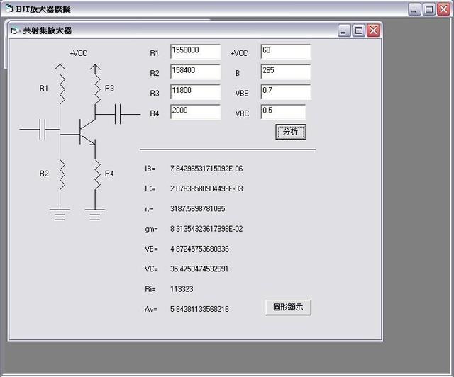 1333478142 2910185259 電晶體BJT放大模擬