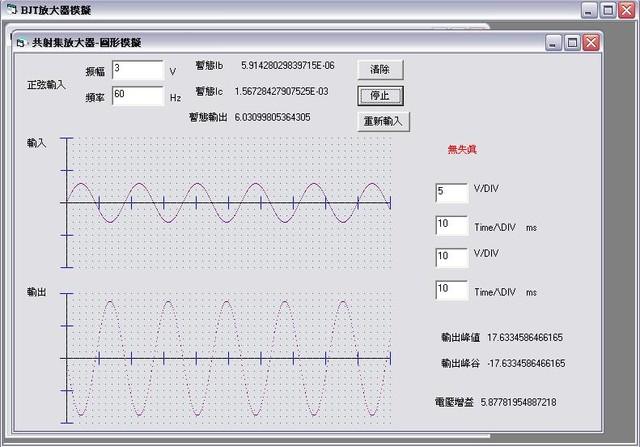 1333478143 3936472668 電晶體BJT放大模擬