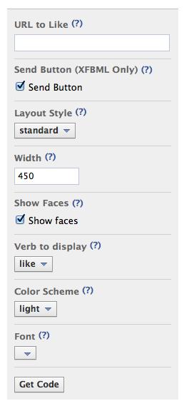 1334170497 3409997511 如何將網頁放入Facebook Like Button